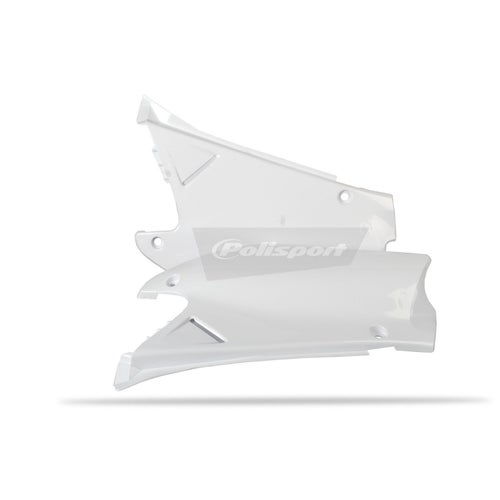 Polisport Plastics Side Panel Honda CR125 250 00 Side Panel Plastic - 01 White