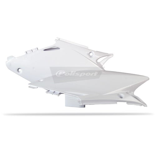 Polisport Plastics Side Panel Honda CR125 250 02 Side Panel Plastic - 07 White