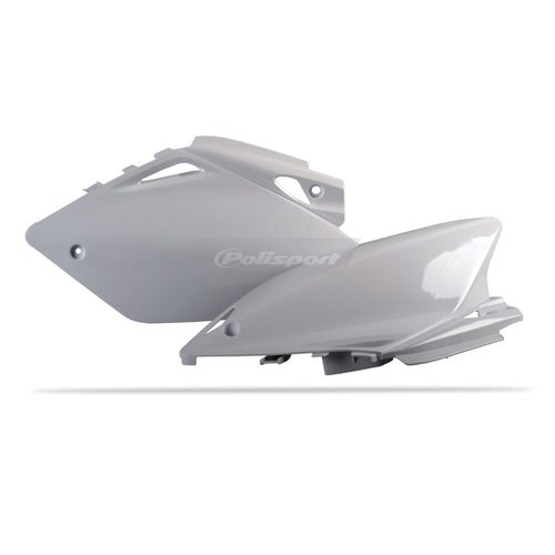 Polisport Plastics Side Panel Honda CRF450 05 Side Panel Plastic - 06 White