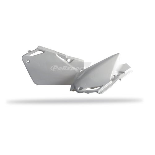 Polisport Plastics Side Panel Honda CR85 03 Side Panel Plastic - 07 White