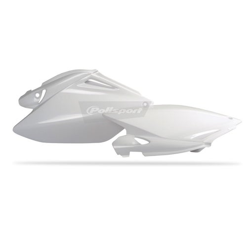 Polisport Plastics Side Panel Honda CRF250 06 Side Panel Plastic - 09 White