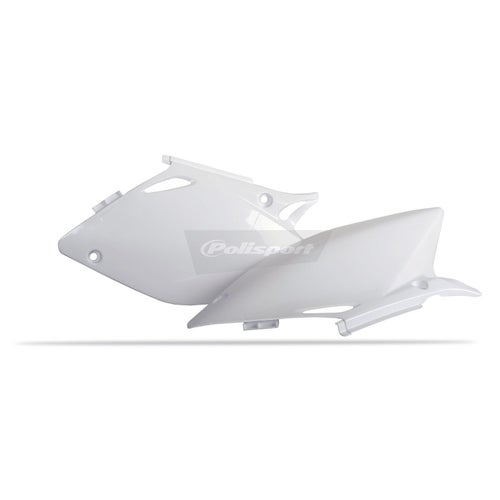 Polisport Plastics Side Panel Honda CRF450 02 Side Panel Plastic - White