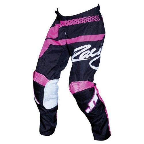 Pantaloni MX JT Racing YOUTH Flex HiLo MX - Black Pink