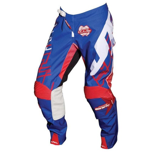 Pantaloni MX JT Racing Hyperlite Shuffle MX - Blue Red White