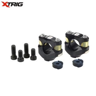 XTrig PHDS Rubber Bar Mount Kit M10 Clamp Fitment Pre 2012 Bar Mount Kit - HDS Rubber Bar Mount Kit M10 Clamp Fitment Pre 2012