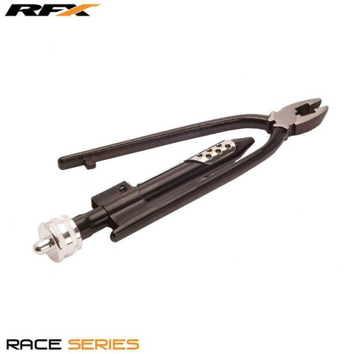 RFX Race Safety Wire Pliers Universal Standard Size Hand Tool - Black