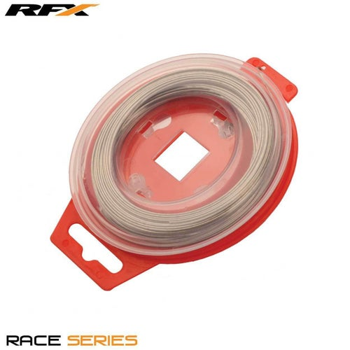 RFX Race Grip locking Safety Wire Universal 08mm x 30m Roll Grip Wire - Silver