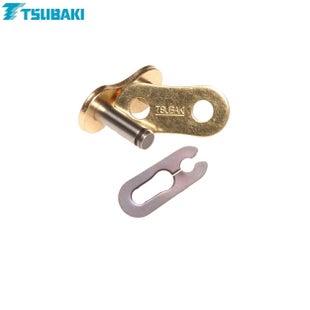 Tsubaki Replacement MXPro Racing Chain 520 Spring link , Chain Split Link - Gold Gold