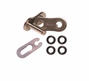 Tsubaki Replacement MX Omega Heavy Duty ORing Chain , Chain Split Link - ORS 520 Spring link