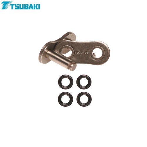 Tsubaki Replacement MX Omega Heavy Duty ORing Chain Chain Split Link - ORS 520 Rivet link