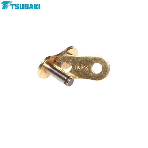 Tsubaki Replacement MXPro Racing Chain 520 Rivet link Chain Split Link - Gold Gold