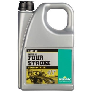 Motorex Motorcycle 4T 10W 40 Engine Oil - 4 Litres