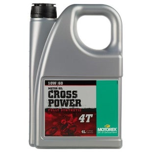 Motorex Cross Power 4T 10W 60 Engine Oil - 4 Litres