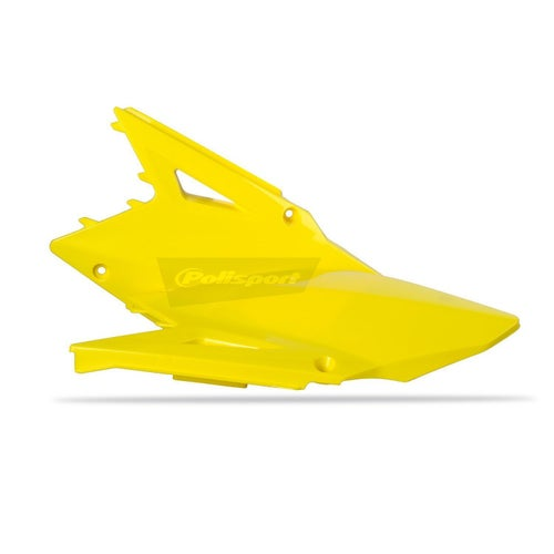 Polisport Plastics Side Panel Suzuki RMZ450 0815 Yellow 01 OEM 14 Side Panel Plastic - 15) Yellow