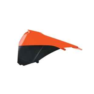 Polisport Plastics Air Filter Box Cover KTM SX125 150 250 13 Airbox Cover - Orange Black