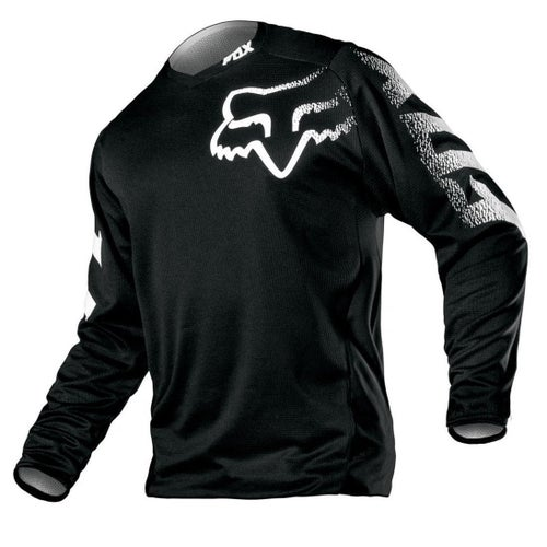 Fox Racing Blackout Motocross Jerseys - Blk