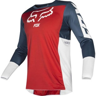 Fox Racing 180 Przm Motocross Jerseys - Nvy/rd