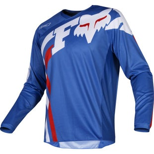 Fox Racing 180 Cota Motocross Jerseys - Blu