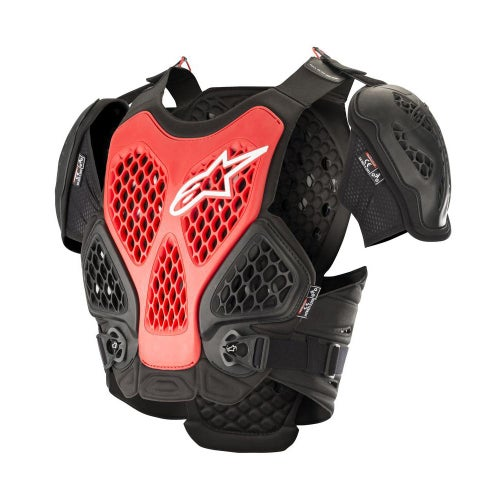 Alpinestars Bionic Chest Protection - Black Red