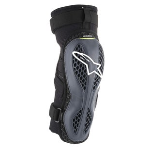 Alpinestars Sequence Knee Protection - Anthracite Yellow Fluo