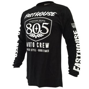 Fasthouse 805 Shield Air Cooled Motocross Jerseys - Black