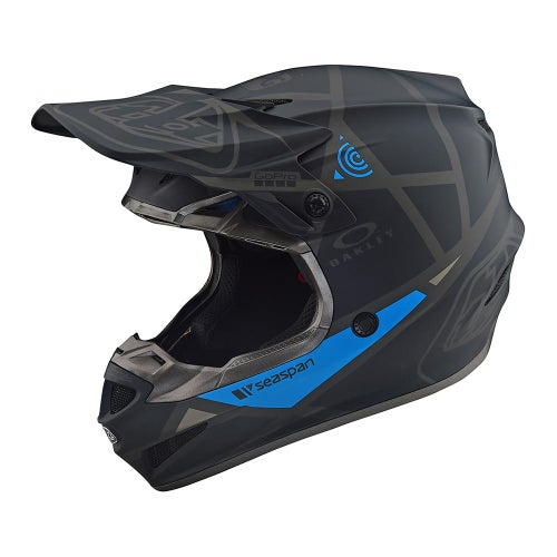 Troy Lee SE4 19 Polyacrylite MX Motocross Helmet - Metric Black