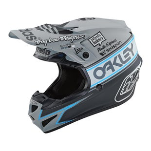 Troy Lee SE4 19 Polyacrylite Team Edition 2 MX Motocross Helmet - Grey
