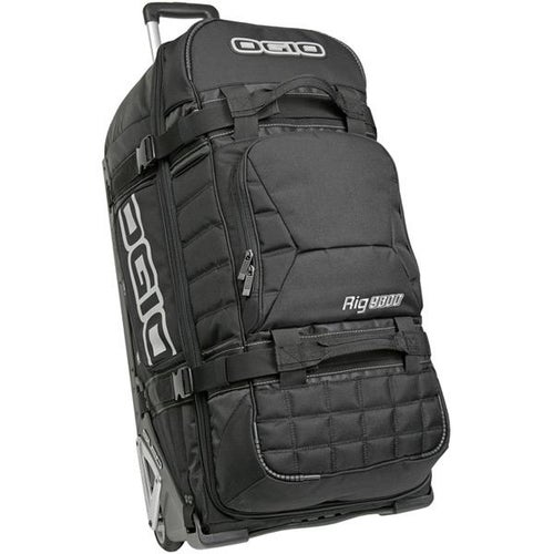 Ogio Rig 9800 Wheeled Motocross Gear Bag Stealth Black Gear Bag - Rig 9800 Wheeled Motocross Gear Bag Stealth Black