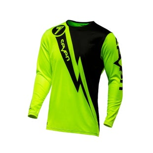 Seven 171 Annex Volt Motocross Jerseys - Flou Yellow