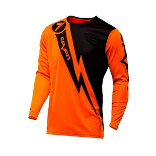 Seven 171 Annex Volt Motocross Jerseys - Flou Orange
