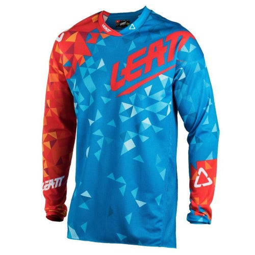 Leatt GPX 4.5 Lite Motocross Jerseys - Blue / Red