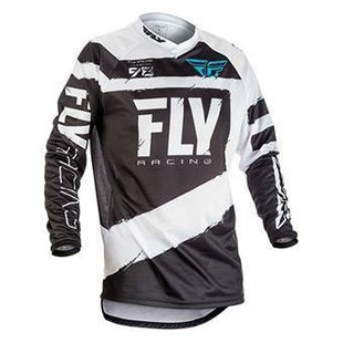 Fly F16 YOUTH MX Motocross Jersey Motocross Jerseys - Grey / Black