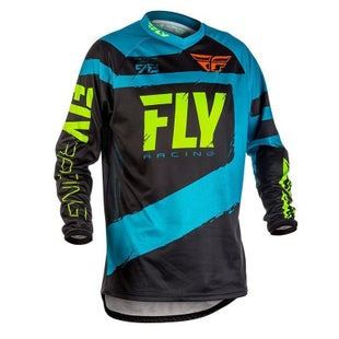 Fly F16 MX Motocross Jerseys - Blue / Black