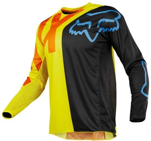 Fox Racing 360 Preme YOUTH Motocross Jerseys - Black / Yellow