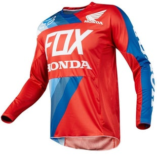 Fox Racing 360 Honda Motocross Jerseys - Red