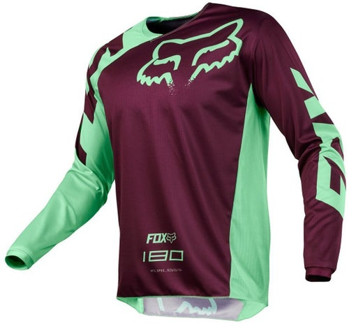 Fox Racing 180 Race Motocross Jerseys - Green