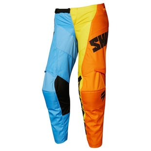 Shift WHIT3 LABEL YOUTH Tarmac Motocross Pants - Orange/Blue