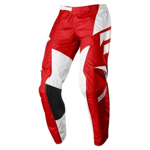 Shift WHIT3 LABEL Ninety Seven Motocross Pants - Red