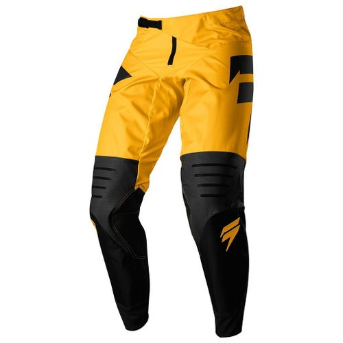 Shift MX 3LACK LABEL Strike Motocross Pants - Yellow