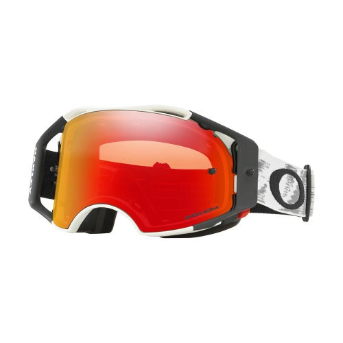Masque MX Oakley Airbrake Matte White Speed - White ~ Prizm Torch Iridium