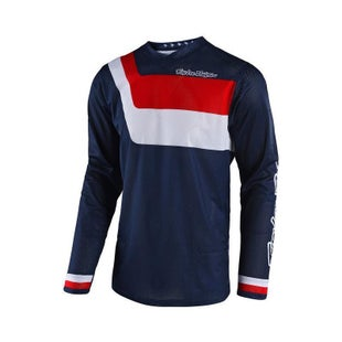 Troy Lee GP AIR Prisma MX Motocross Jersey Enduro Jersey - Navy