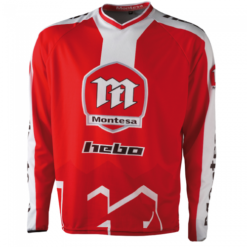 Hebo Shirt Montesa Classic XXLarge Trials Jersey - Red