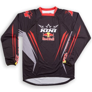 Kini Red Bull Competition MX Motocross Jerseys - Black