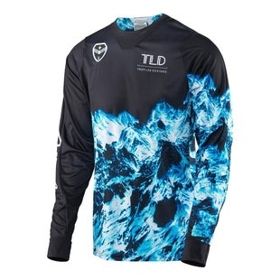 Troy Lee SE Gravity MX Motocross Jersey Motocross Jerseys - Black