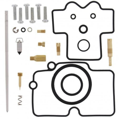 All Balls Carb Rebuild Kit Yamaha WR450F 05 Carb Re-Build Kit - Black