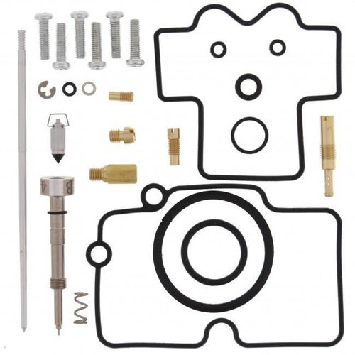All Balls Carb Rebuild Kit Yamaha YZ250F 08 Carb Re-Build Kit - Black