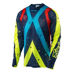 Troy Lee SE AIR Phantom MX Motocross Jersey Motocross Jerseys - Navy
