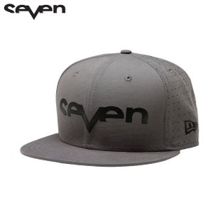 Seven Casual New Era Cap - Brand Punched Gray/Black