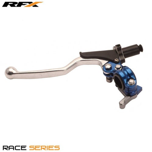 RFX Race Clutch Lever Assembly Universal 4 Stroke EZ Adjust Clutch Lever Assemblies - Blue