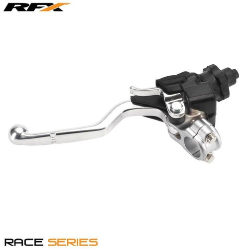 RFX Race Clutch Lever Assembly Honda C 250 450 04 Clutch Lever Assemblies - Grey